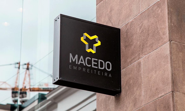 Identidade Visual e Site Macedo Empreiteira