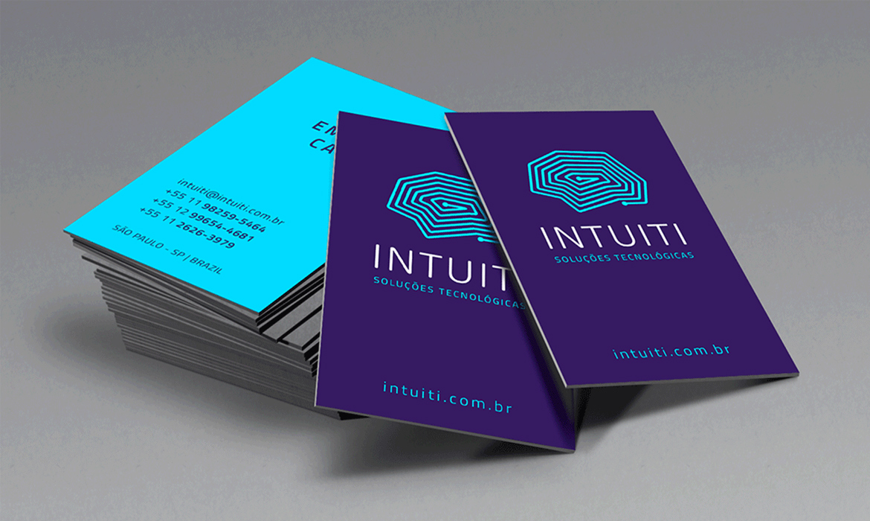 Identidade Visual Intuiti Soluções Tecnológicas