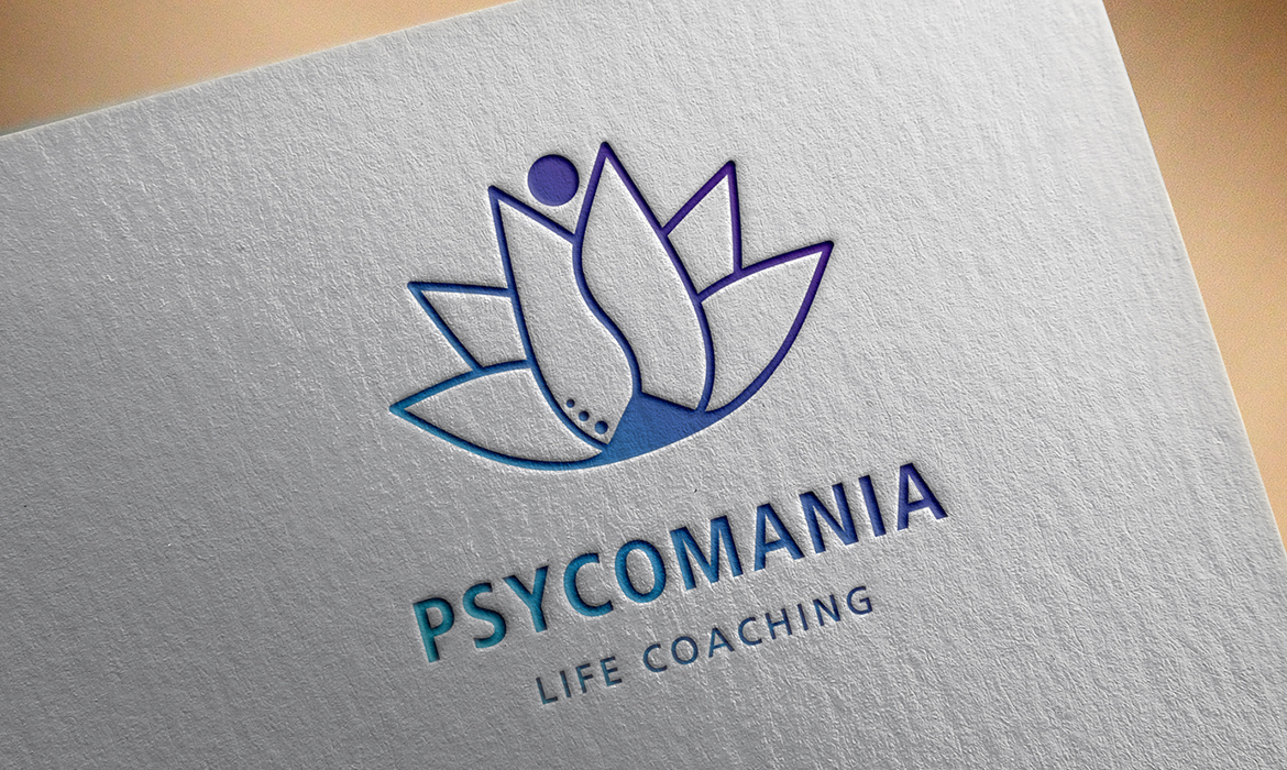 Identidade Visual e Site <p> Psycomania Life Coaching