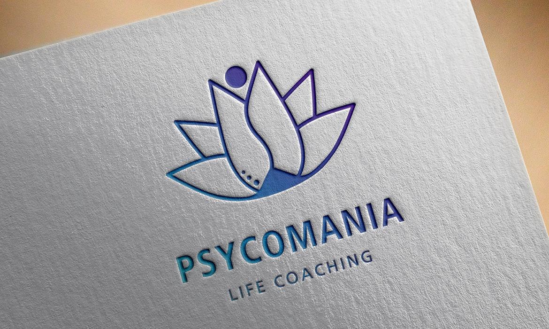 Identidade Visual e Site <p> Psycomania Life Coaching