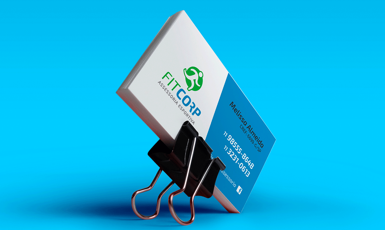 Identidade Visual e Site Fitcorp Assessoria Esportiva