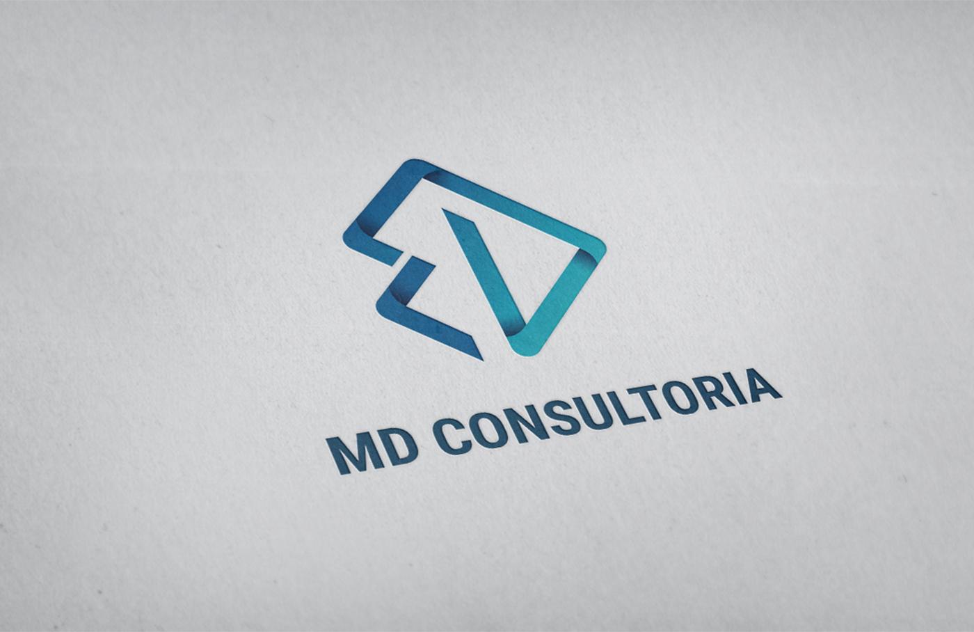Logotipo perspectiva - MD Consultoria